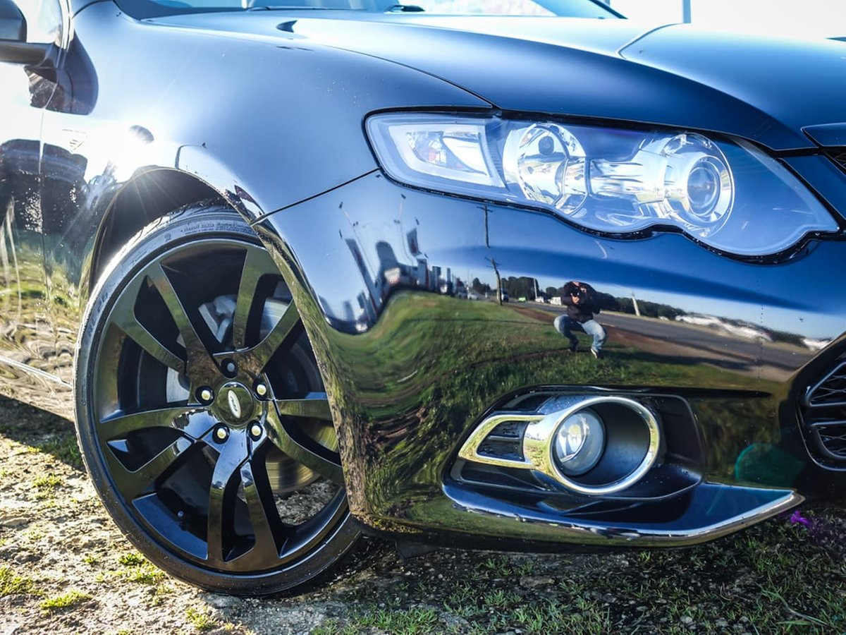 2014 Ford Falcon UTE XR6 Turbo FG Mkii (Black) for sale in