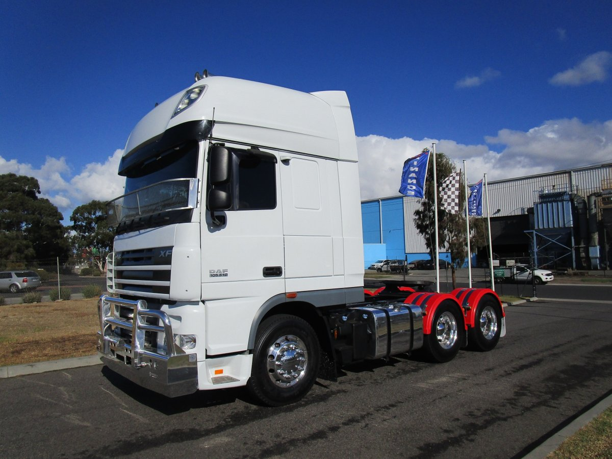 2014 DAF XF 105 Series Only 400,000KLMS (White) for sale in