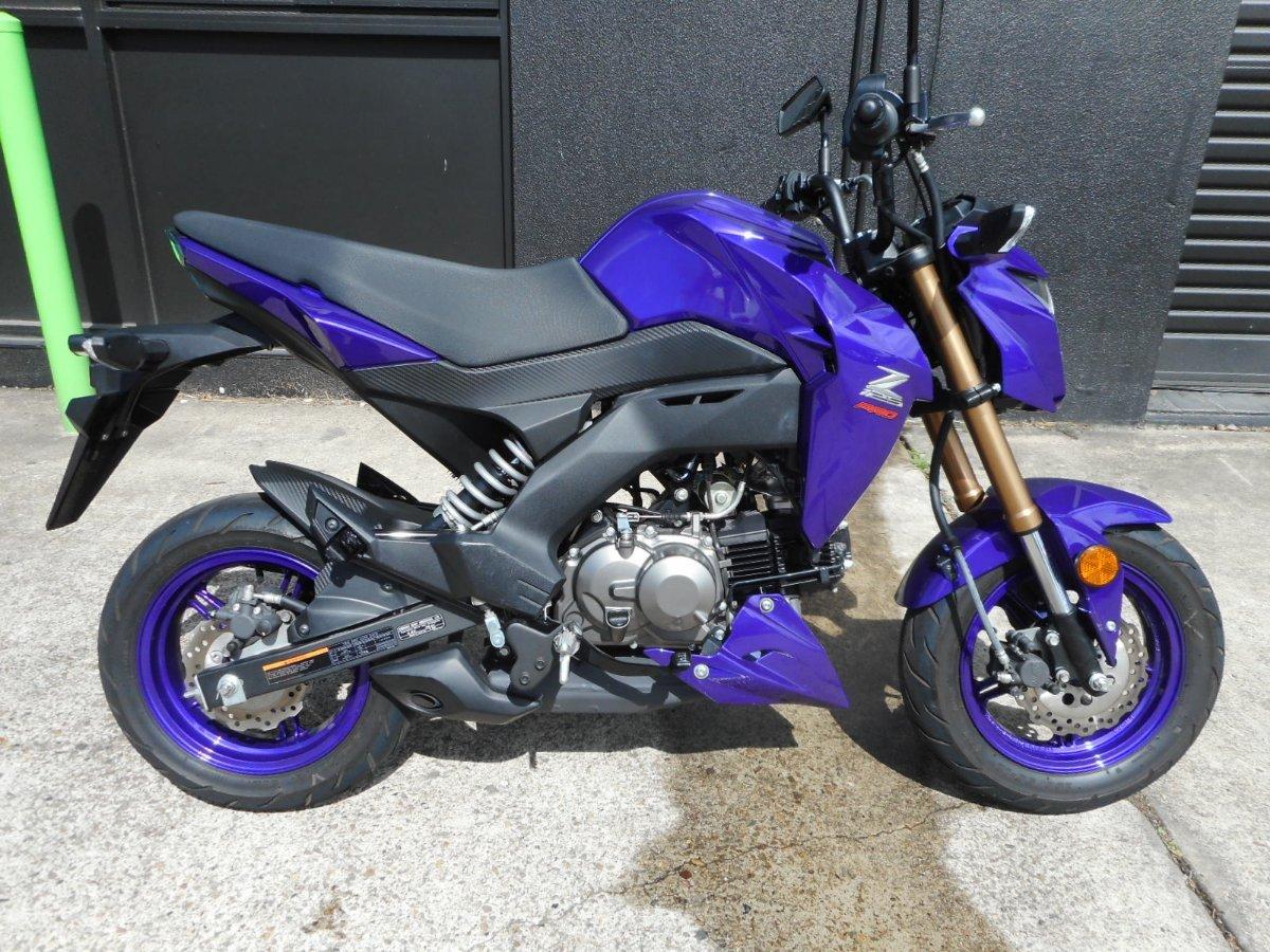 2017 Kawasaki Z125 Pro Purple For Sale In Nerang At