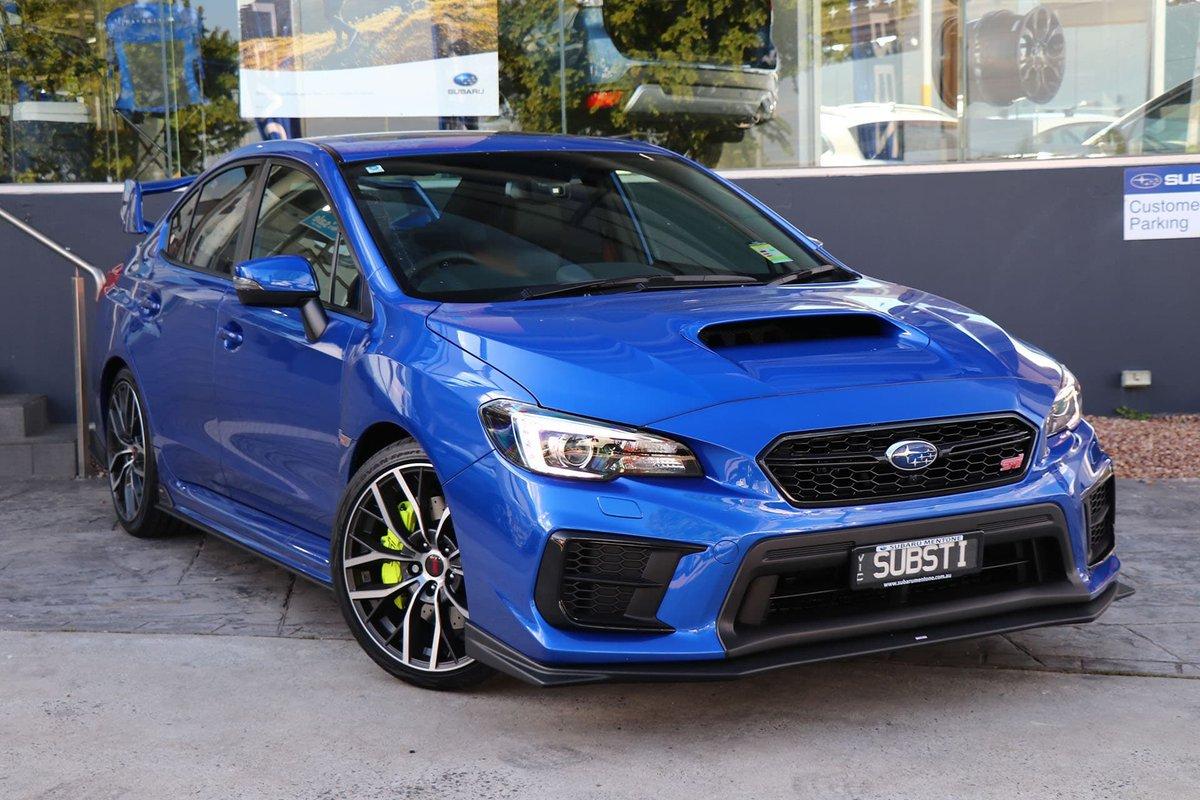 Subaru wrx sti 2019 specs