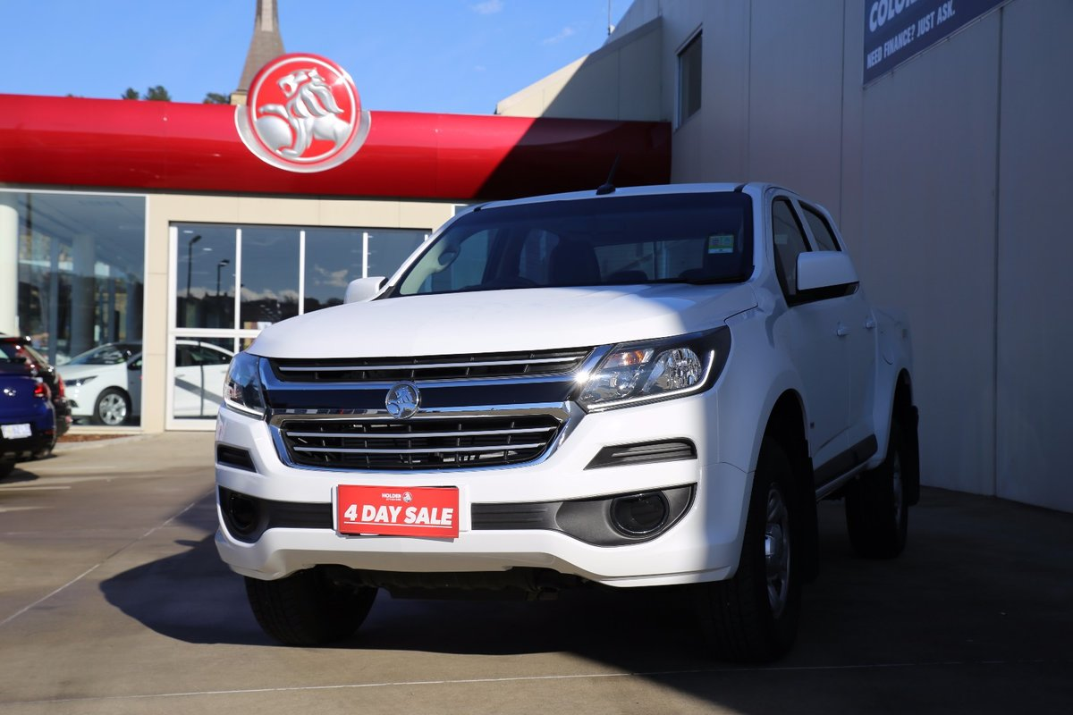 2017 HOLDEN COLORADO