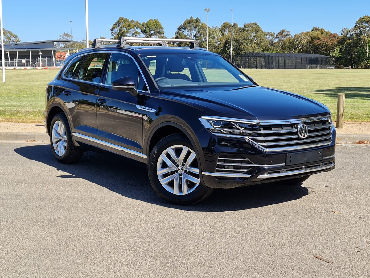 2020 Volkswagen Touareg 190tdi Adventure Cr My20 Four Wheel Drive For Sale In Doncaster Vic Deep Black Penfold