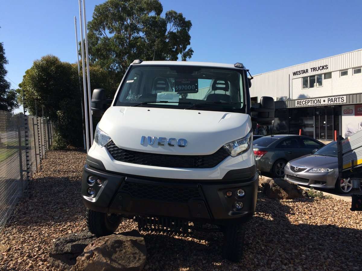 2016 Iveco Daily 55 S17 Single Cab