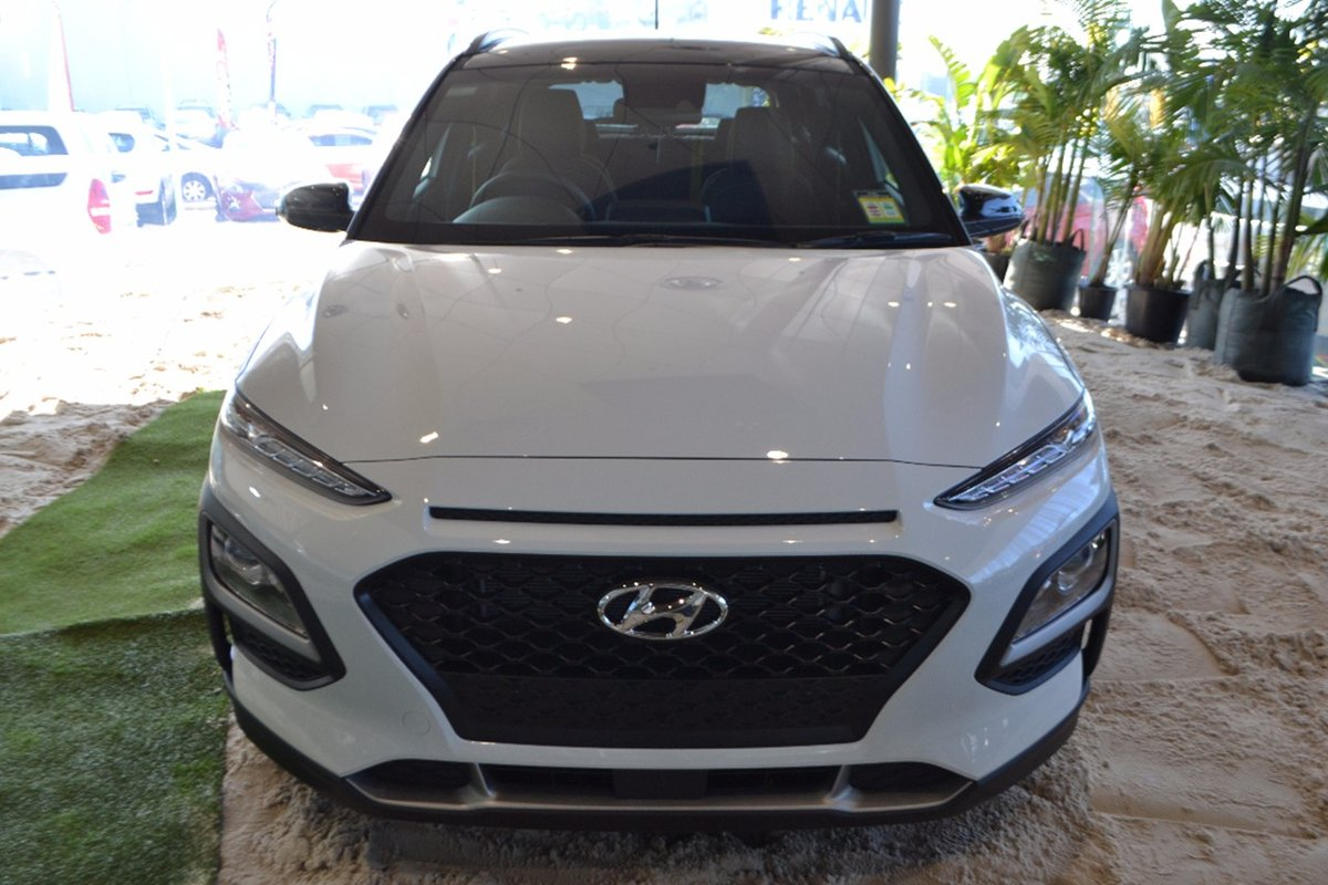 2017 hyundai kona launch edition os white for sale in hoppers crossing werribee hyundai. Black Bedroom Furniture Sets. Home Design Ideas