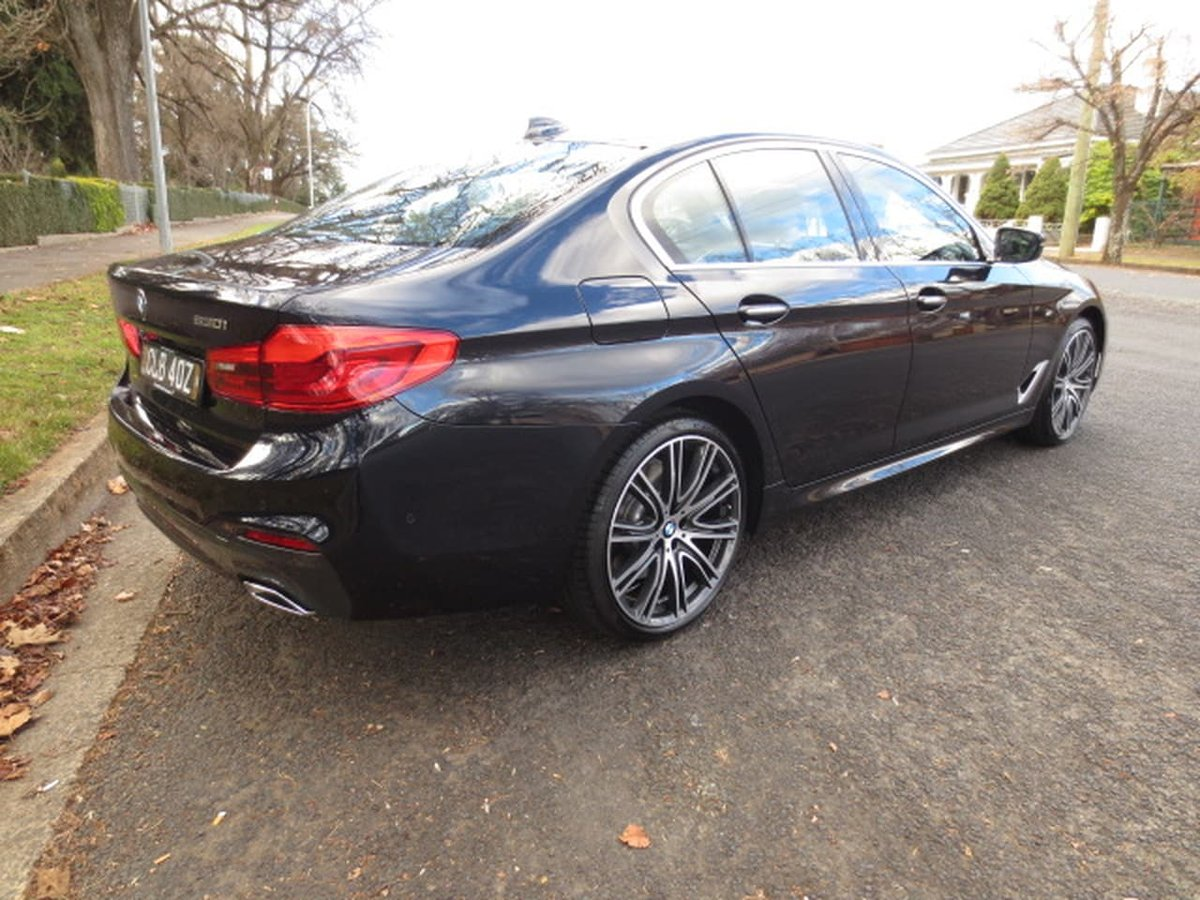 2017 bmw 530i m sport g30 black for sale in orange tony leahey hyundai. Black Bedroom Furniture Sets. Home Design Ideas