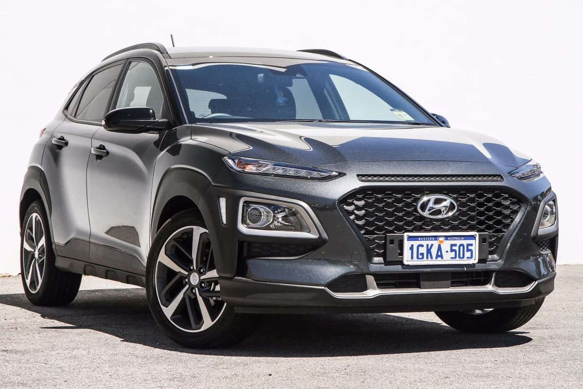 2017 hyundai kona launch edition os grey for sale in midland midland hyundai. Black Bedroom Furniture Sets. Home Design Ideas