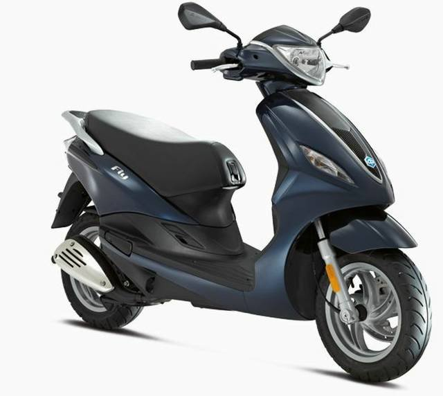 2017 PIAGGIO FLY 150 SCOOTER BLUE