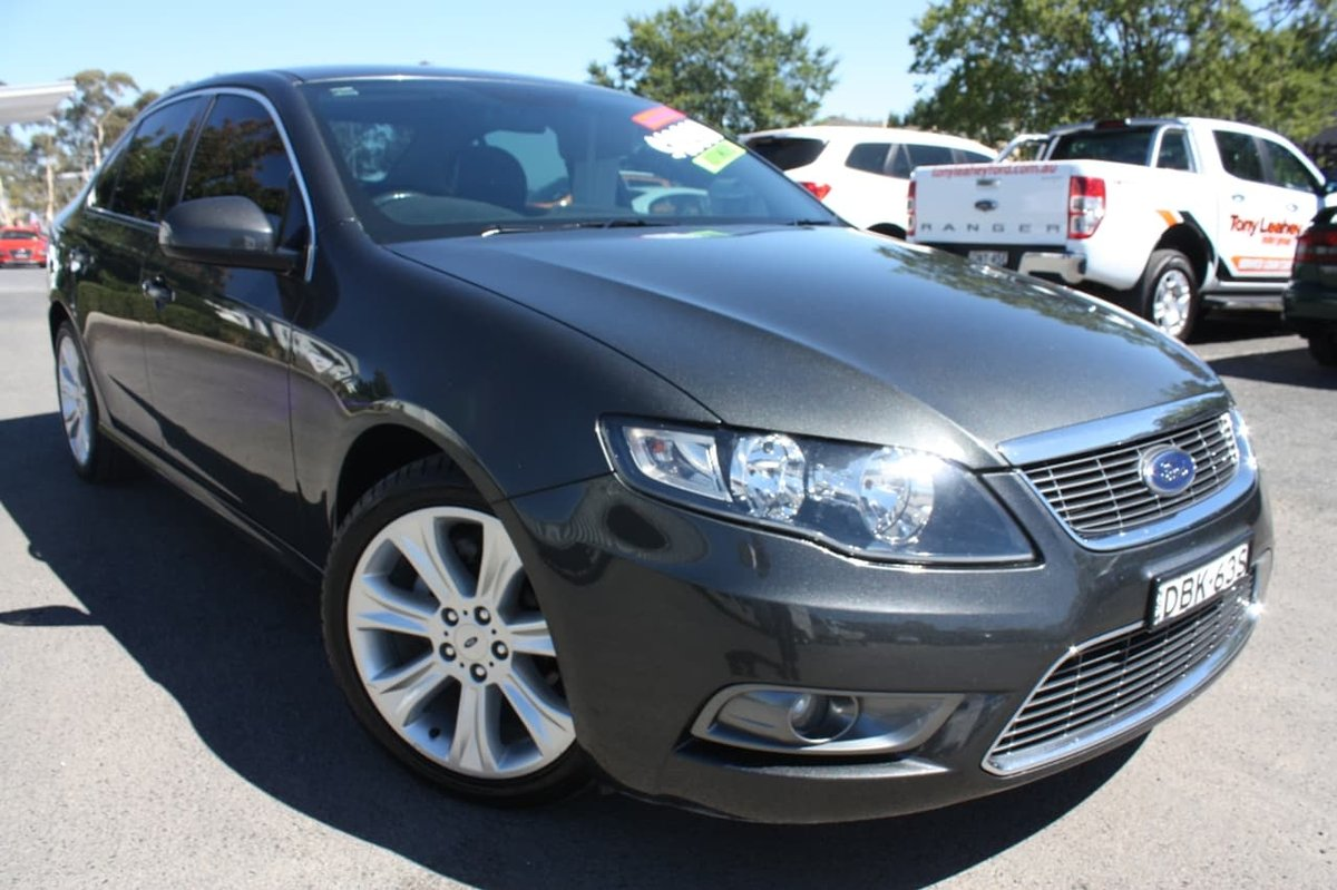2010 FORD FALCON G6 LIMITED EDITION FG Grey