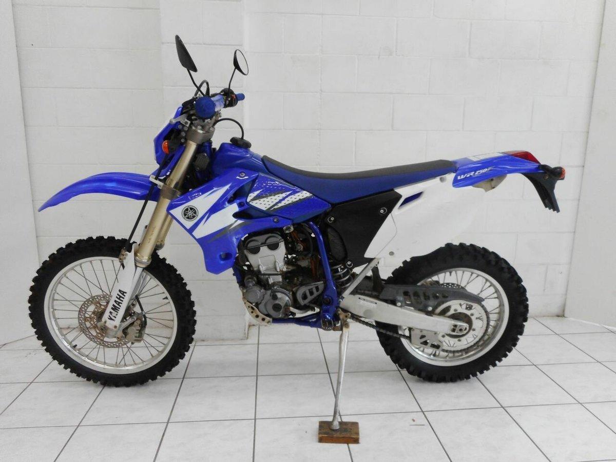2006 Yamaha WR250F (Blue) for sale at TeamMoto Kawasaki Bowen Hills ...