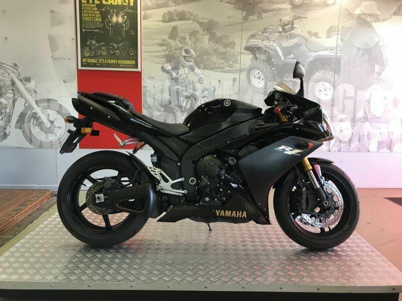 2008 Yamaha YZF-R1 (Black) for sale at TeamMoto Yamaha Moorooka ...