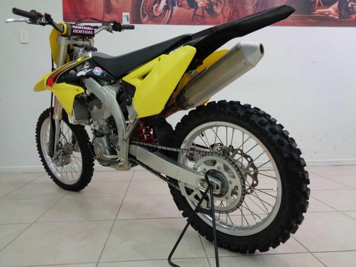 2015 Suzuki RM Z450 Yellow