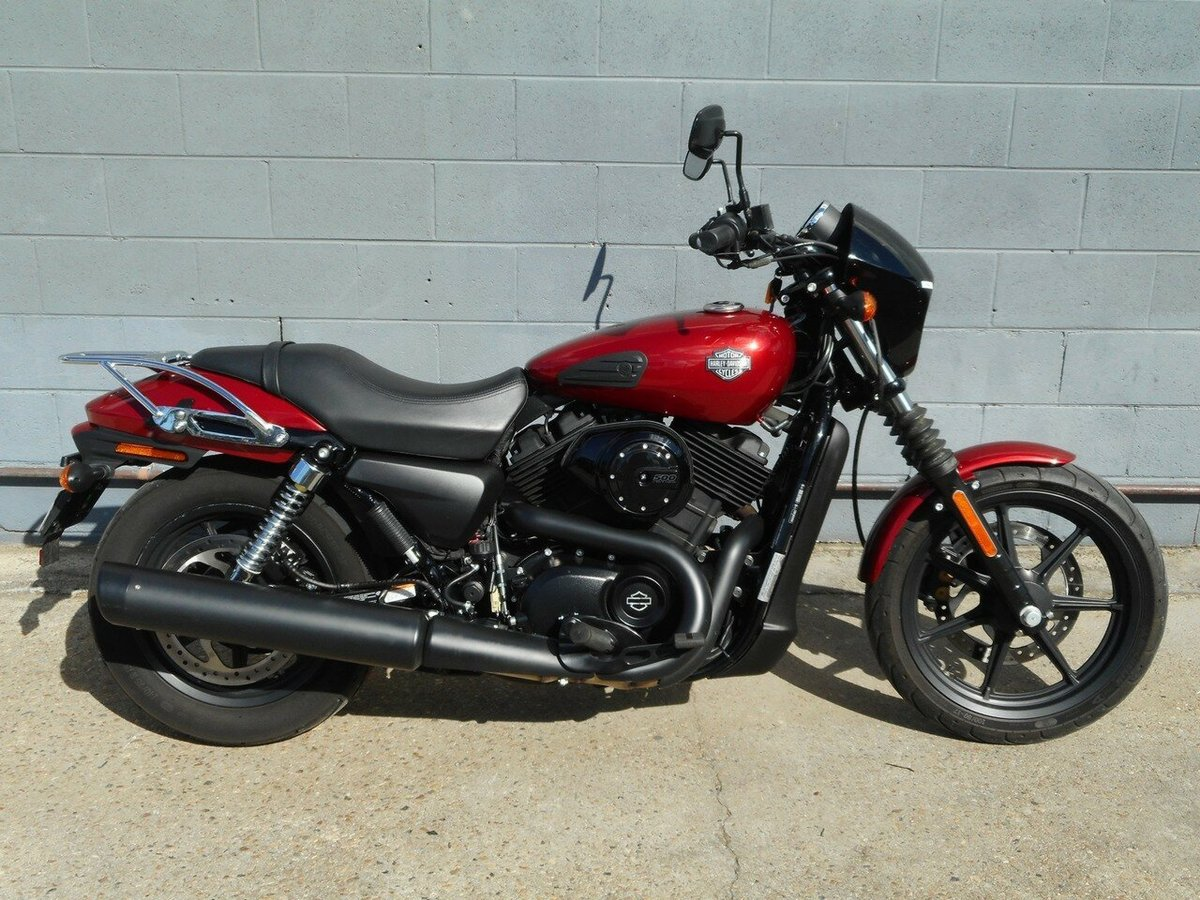 2016 Harley-Davidson Street 500 (lams) (Black) for sale at TeamMoto
