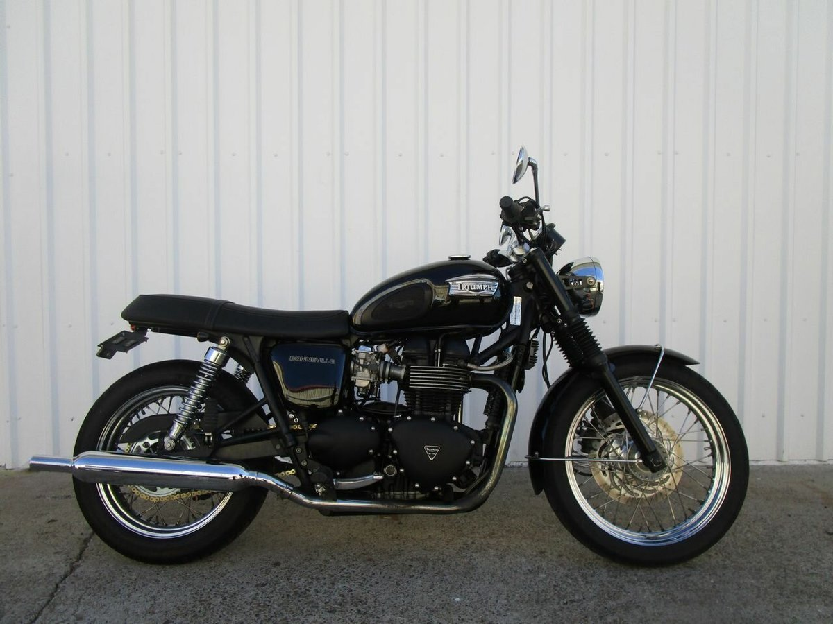 2004 triumph bonneville black for sale at teammoto triumph
