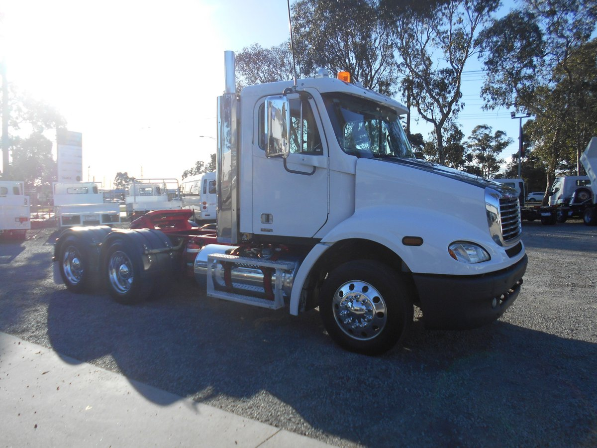 2007 Freightliner Columbia CL112 (White) for sale in Dandenong South