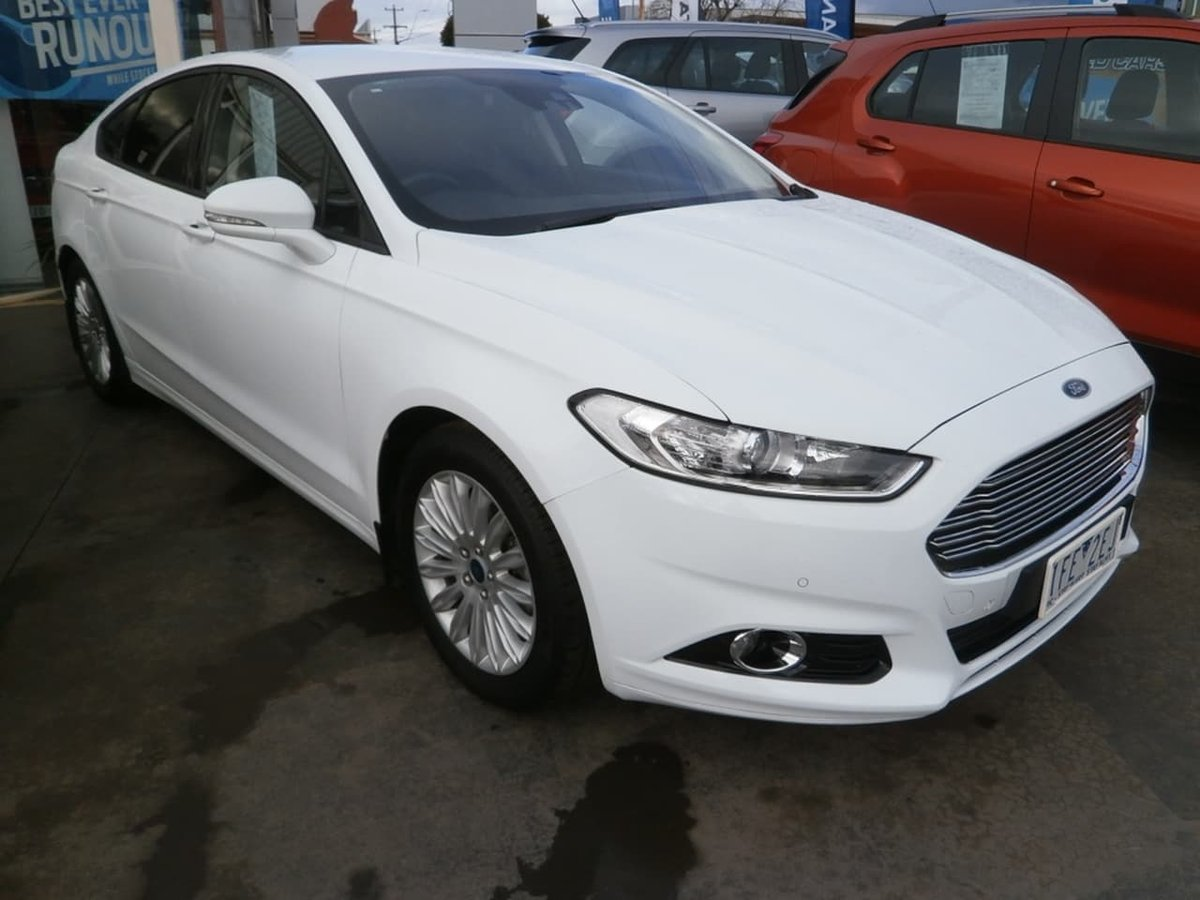 Ford Mondeo 2015 White >> 2015 Ford Mondeo Trend Md White For Sale In Wangaratta Ovens Kia