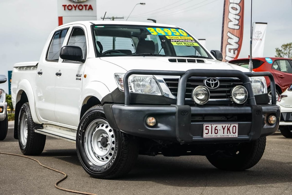 John Madill Toyota 2013 Hilux Sr Kun26r White For Sale At Used Cars With Prices