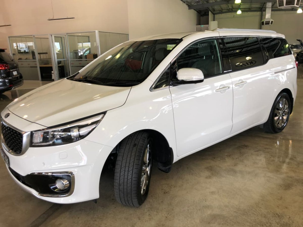 2018 Kia Carnival Platinum Yp My18 White For Sale In Mill Park