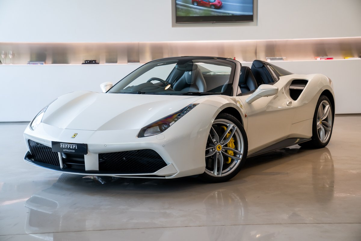 2018 Ferrari 488 Spider F142 For Sale In Waterloo Nsw Bianco Italia Mccarroll S Automotive Group