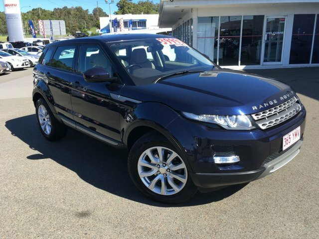 2013 land rover range rover evoque td4 pure lv my13 (blue) for sale