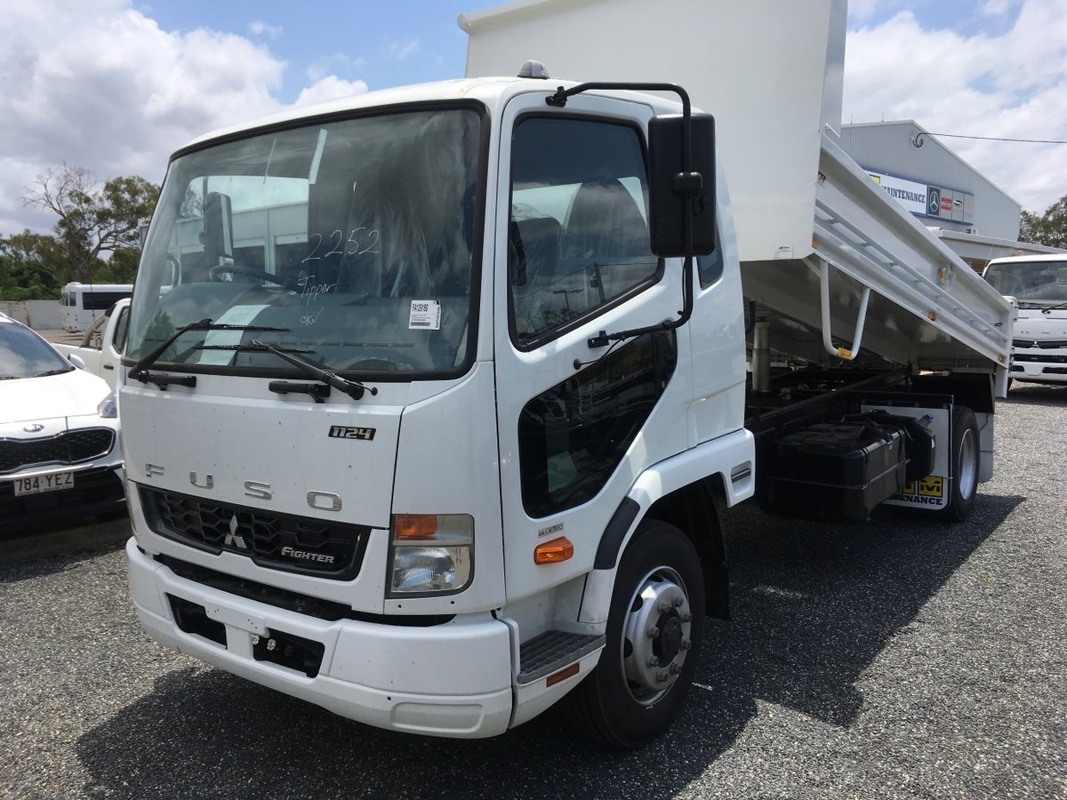 0a077922fa 2018 Fuso Fighter 1124 Factory Tipper - RGM Maintenance Rockhampton