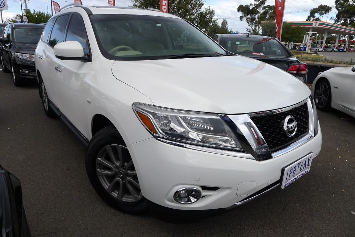 2014 Nissan Pathfinder ST-L R52 MY14 (White) for sale in