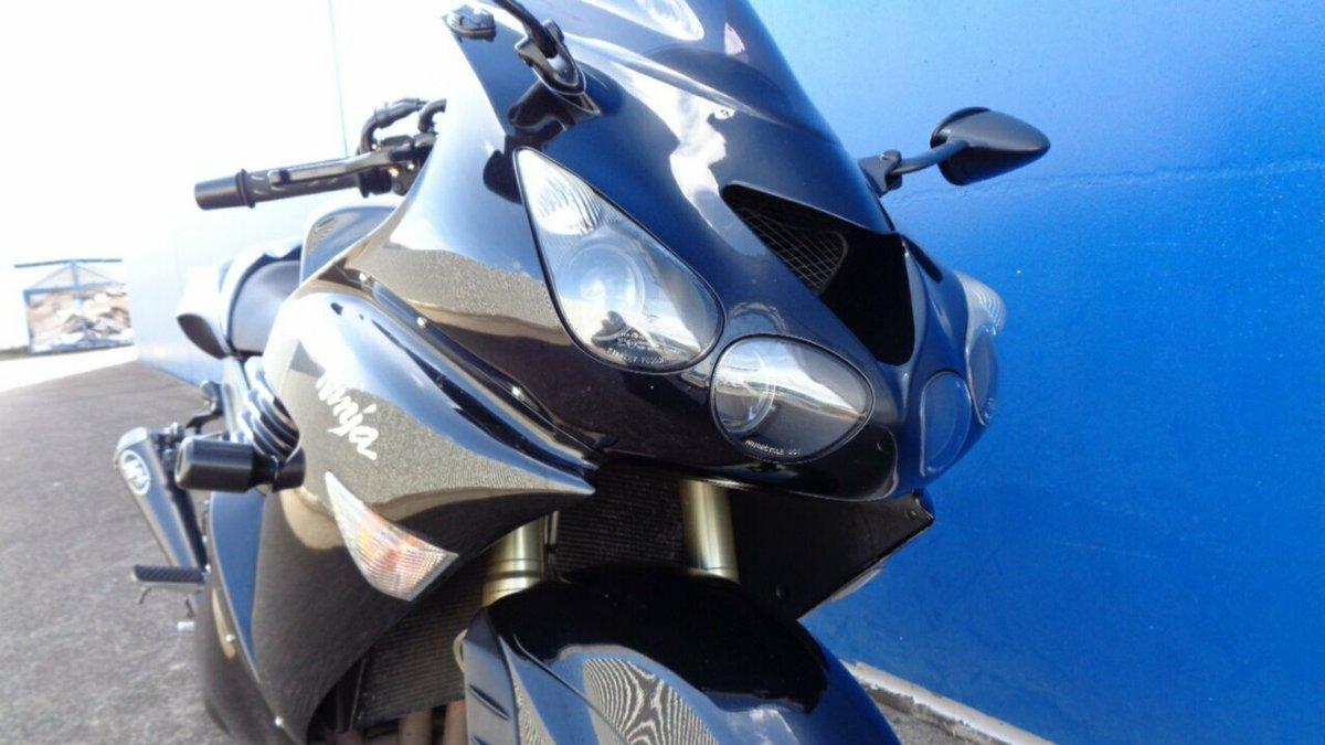 2008 Kawasaki Ninja Zx 14 Zx14 R Black For Sale At Teammoto
