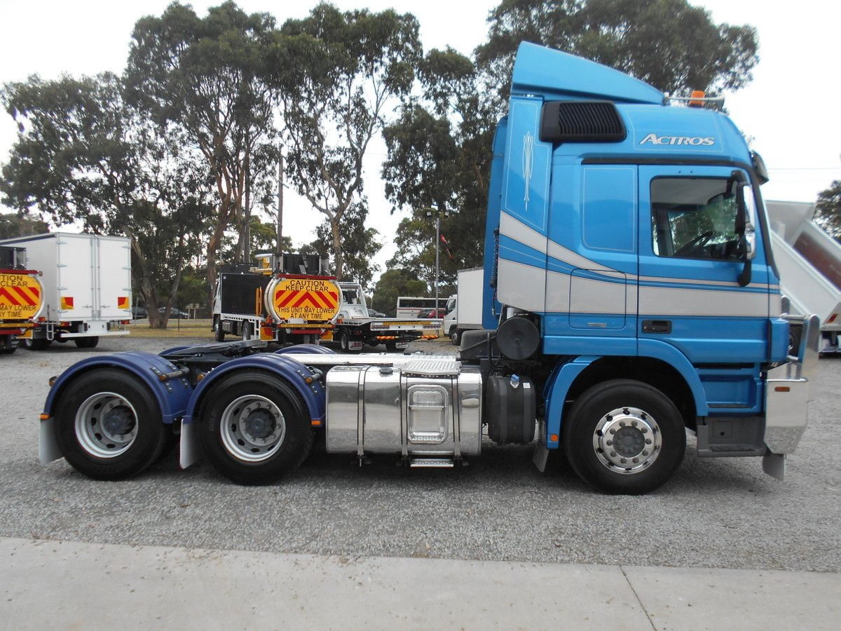 2012 Mercedes Benz 2660 Actros (Blue) for sale in Dandenong