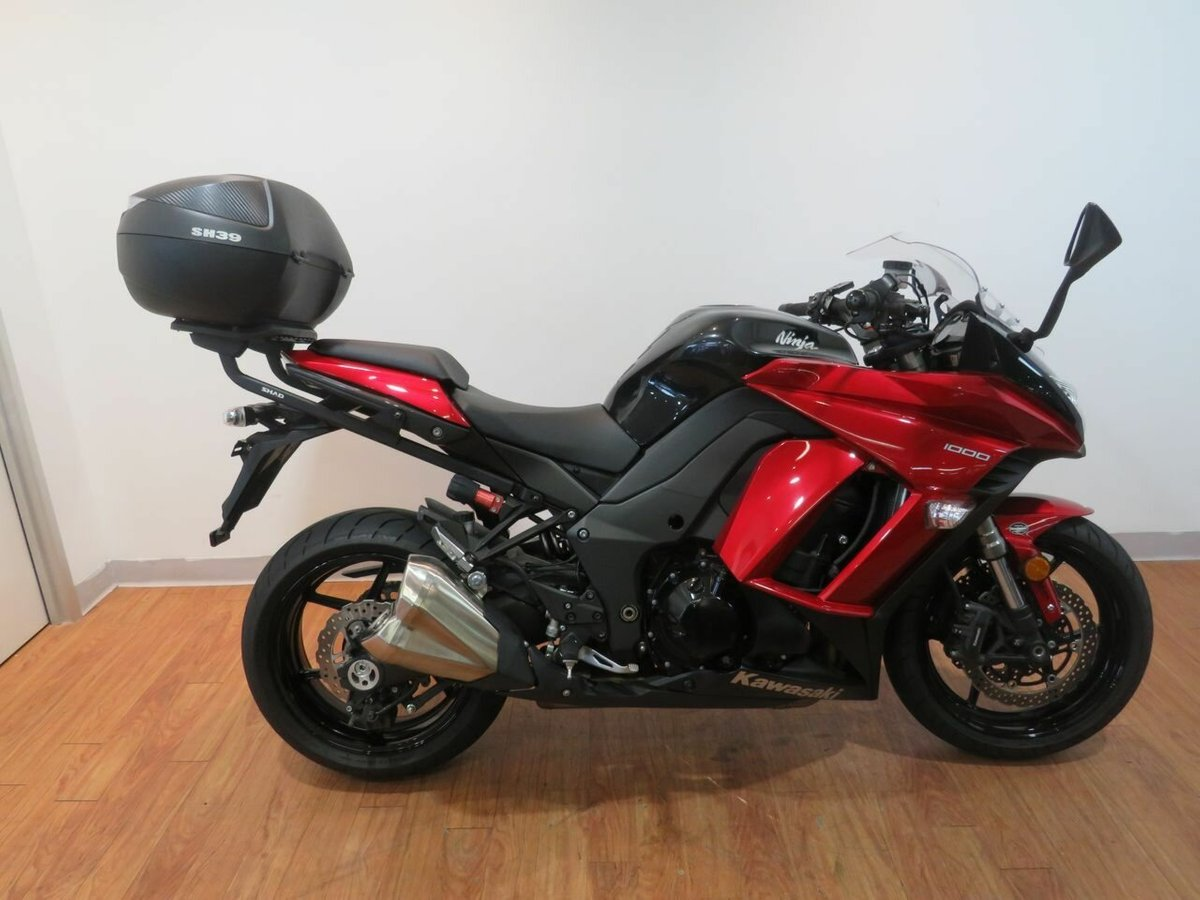 2014 Kawasaki Ninja 1000 Black For Sale At Teammoto Honda