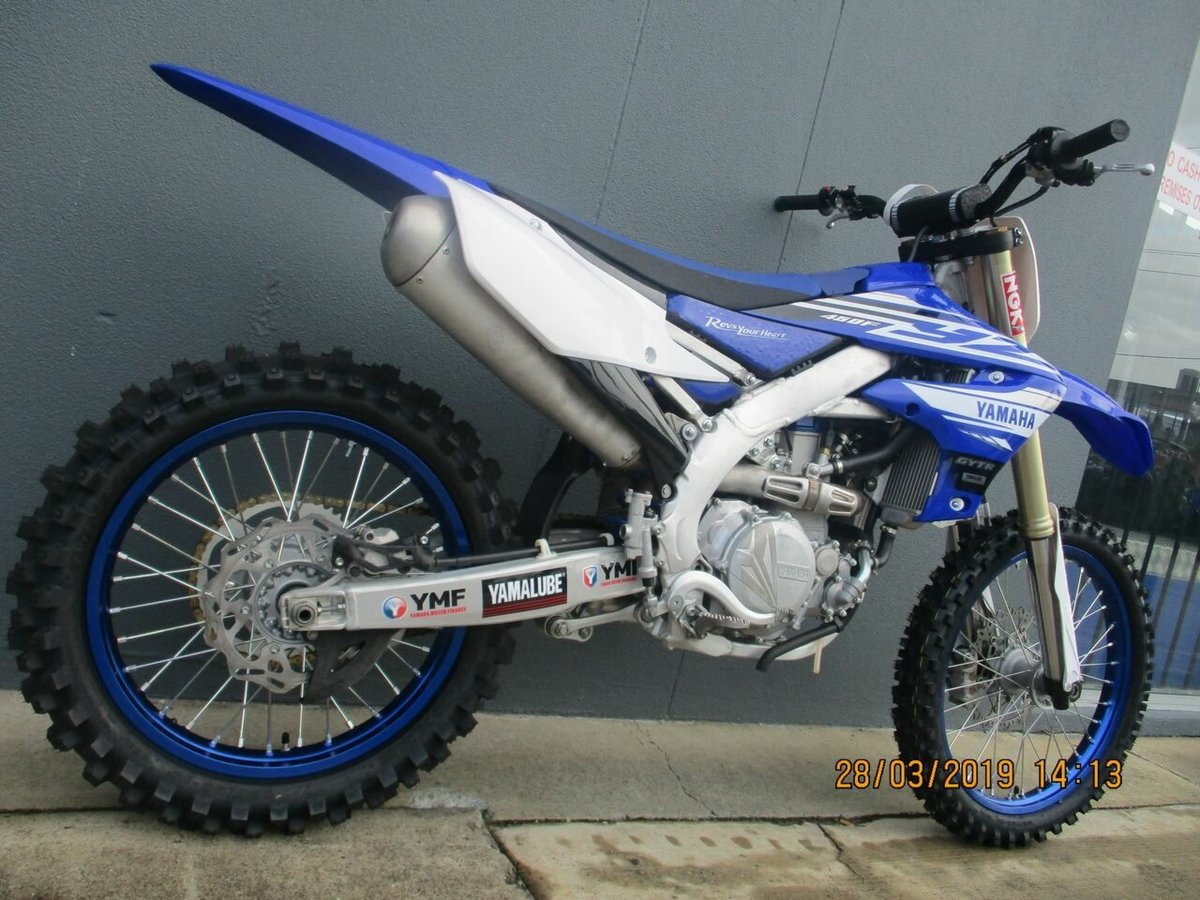 2019 Yamaha YZ450F (Blue) for sale in Nerang at TeamMoto