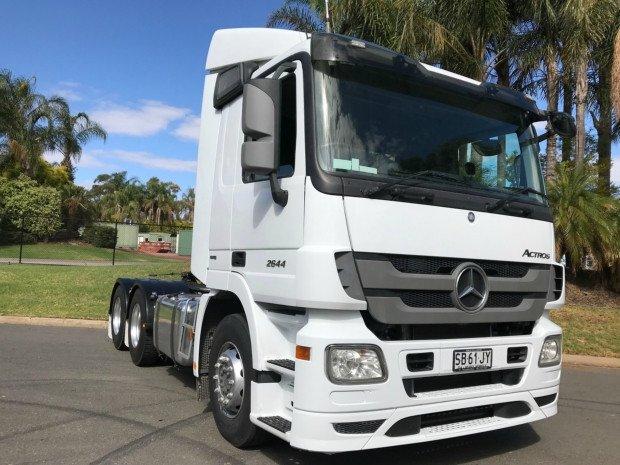 2014 Mercedes Benz 2644 Actros Actros 2644 (White) for sale