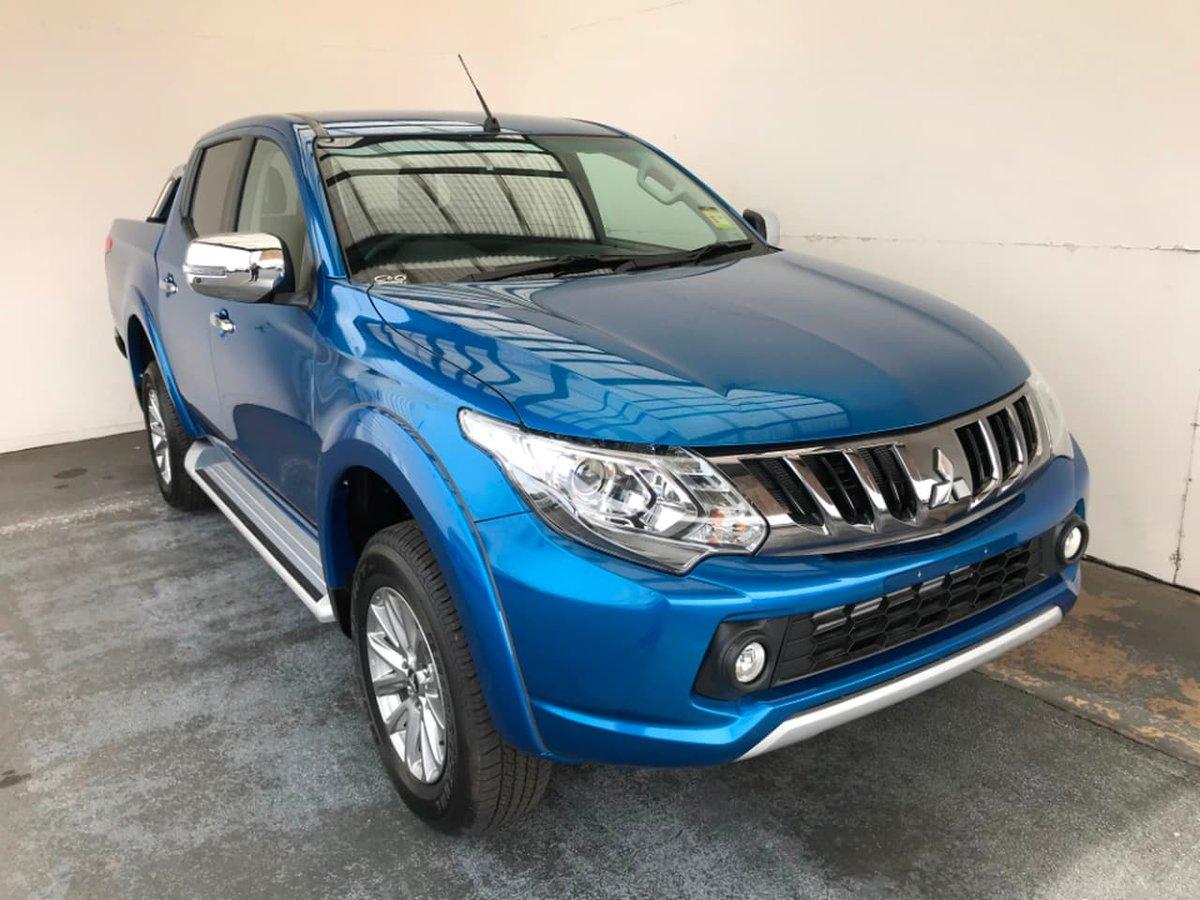 2018 Mitsubishi Triton GLS MQ MY18 4X4 Dual Range (Blue) for