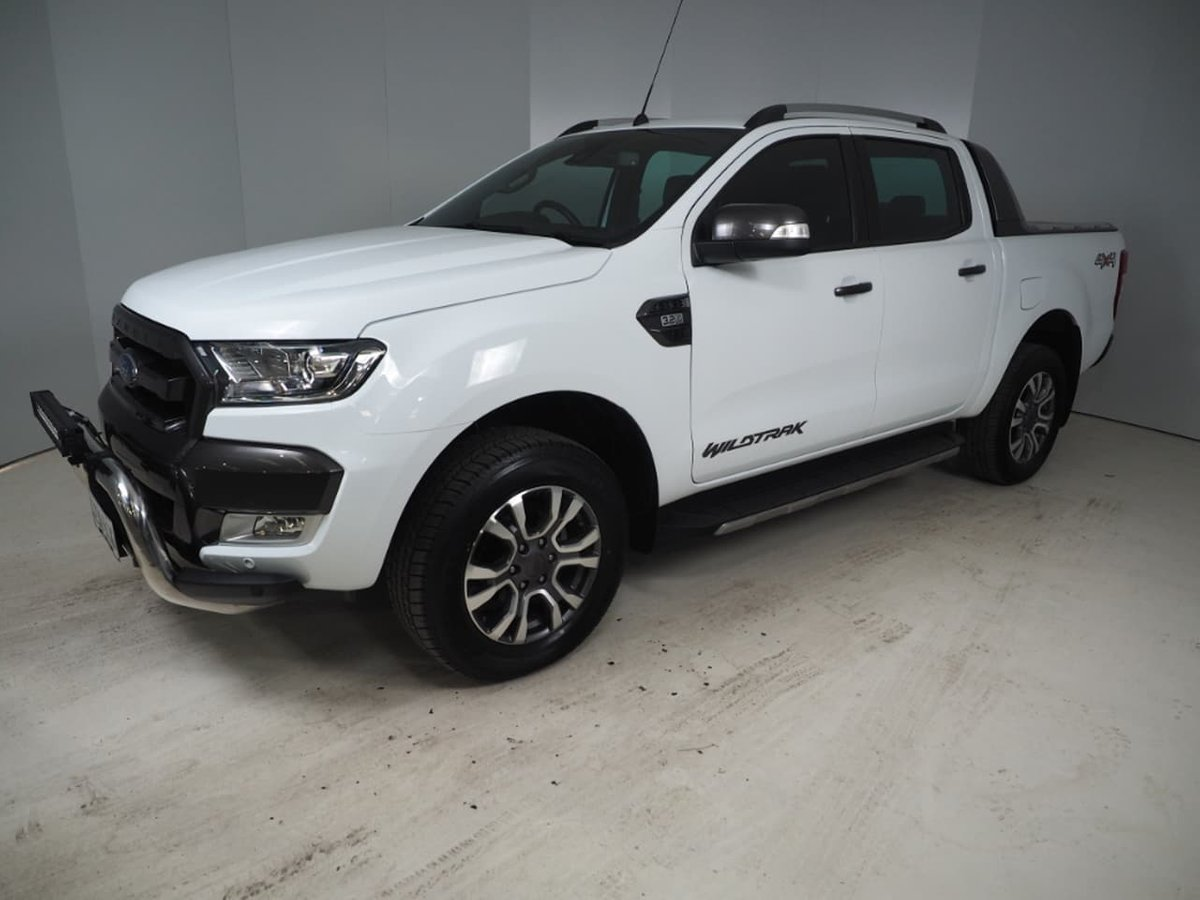 Ford Ranger 2 3 L Engine For Sale >> 2017 Ford Ranger Wildtrak PX Mkii 4X4 Dual Range (White ...