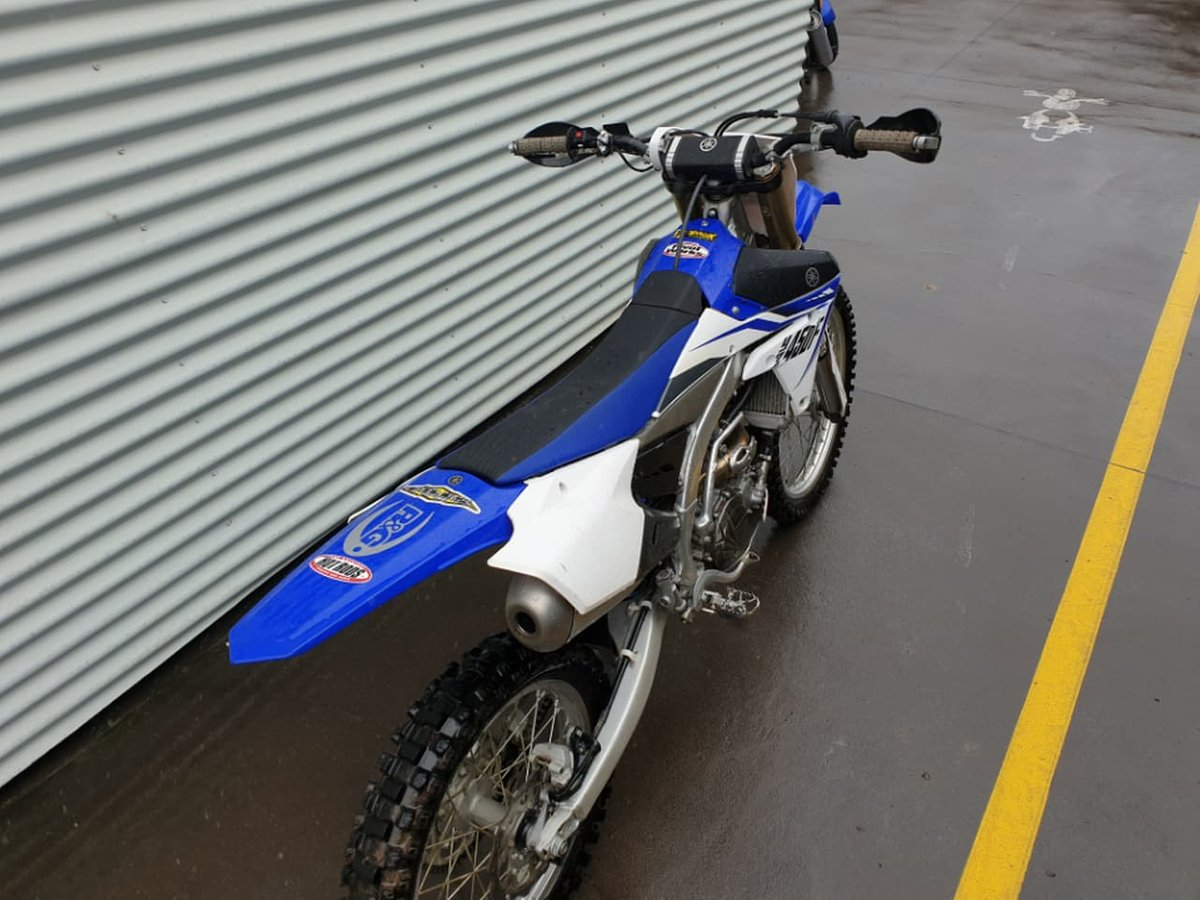 2014 Yamaha YZ450F (Blue) for sale in Prospect