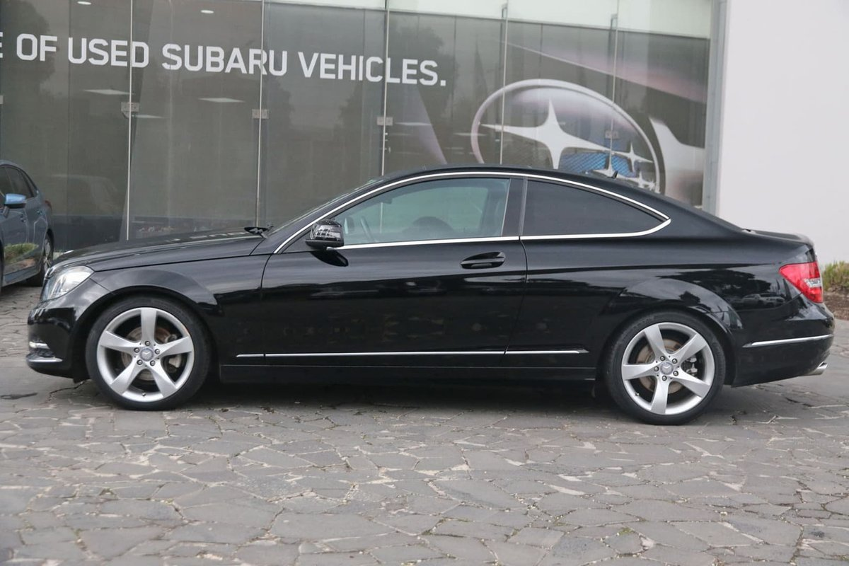 2013 Mercedes-Benz C250 CDI C204 MY13 (Black) for sale in