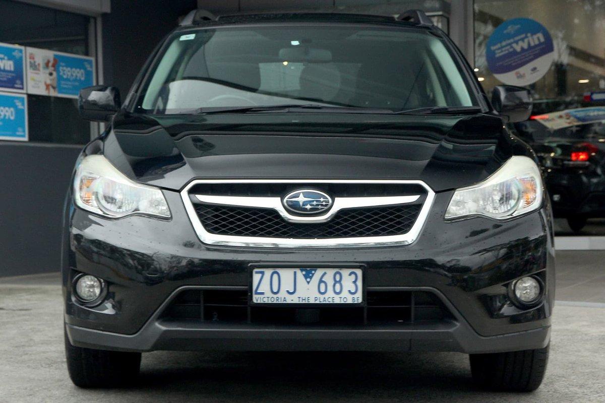 2012 Subaru XV 2 0I-L G4X MY12 Four Wheel Drive (Black) for