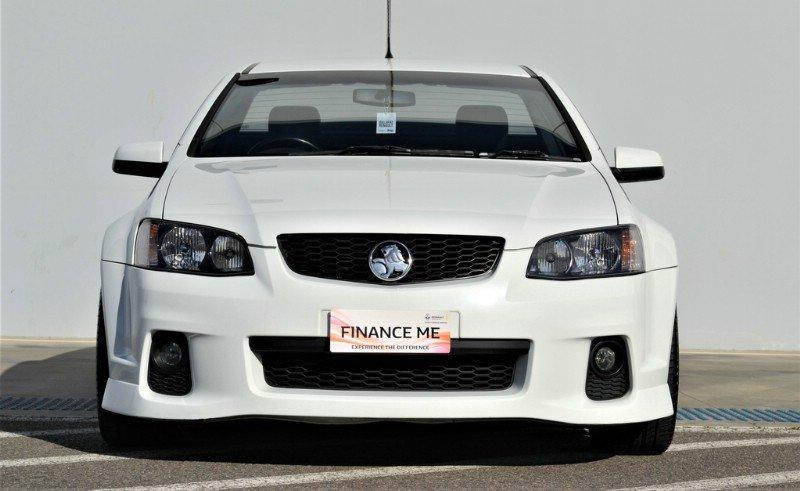 2011 Holden UTE SS Thunder VE Series II (White) for sale in Ballarat