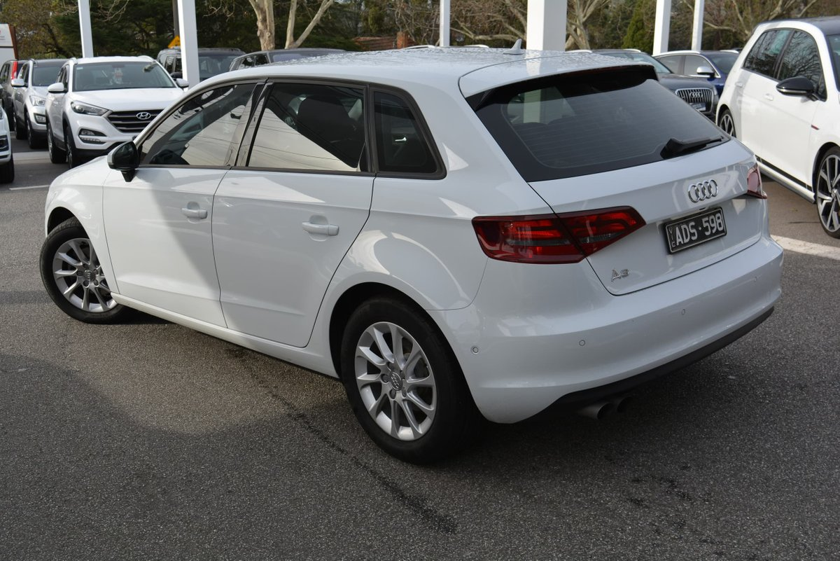 2014 Audi A3 Attraction 8V MY15 (White) for sale in Burwood