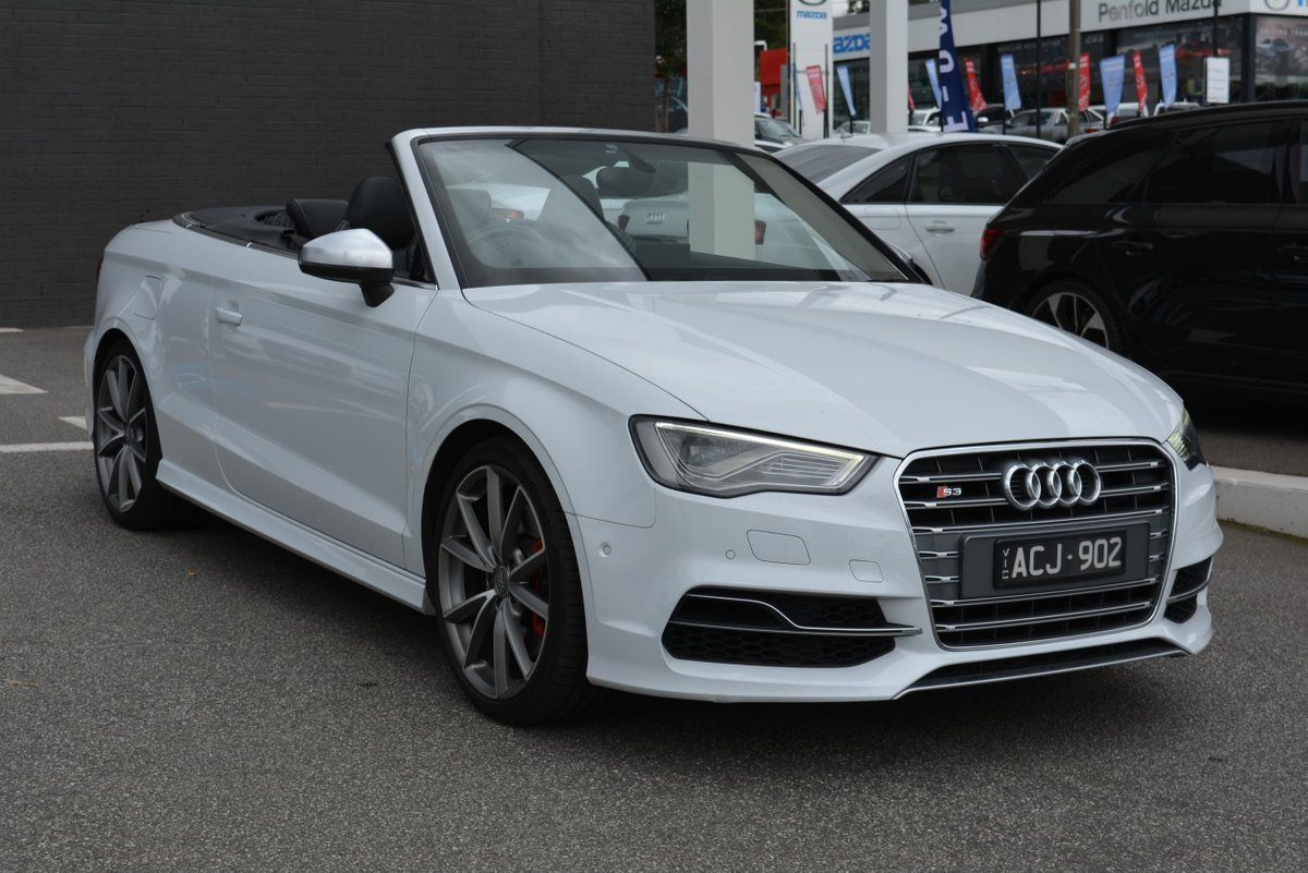 2014 Audi S3 8V MY15 Four Wheel Drive (White) for sale in Burwood