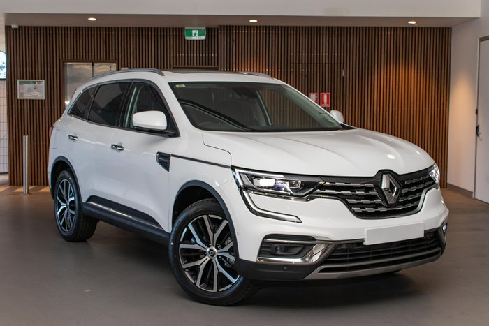 2020 Renault Koleos Intens HZG MY20 Four Wheel Drive White - Solid