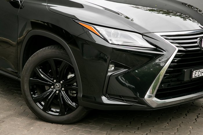 2019 Lexus RX RX350 Crafted Edition GGL25R 4X4 On Demand GRAPHITE BLACK