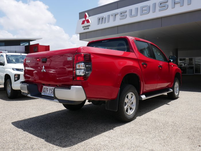 2018 Mitsubishi Triton GLX+ MR MY19 4X4 Dual Range RED