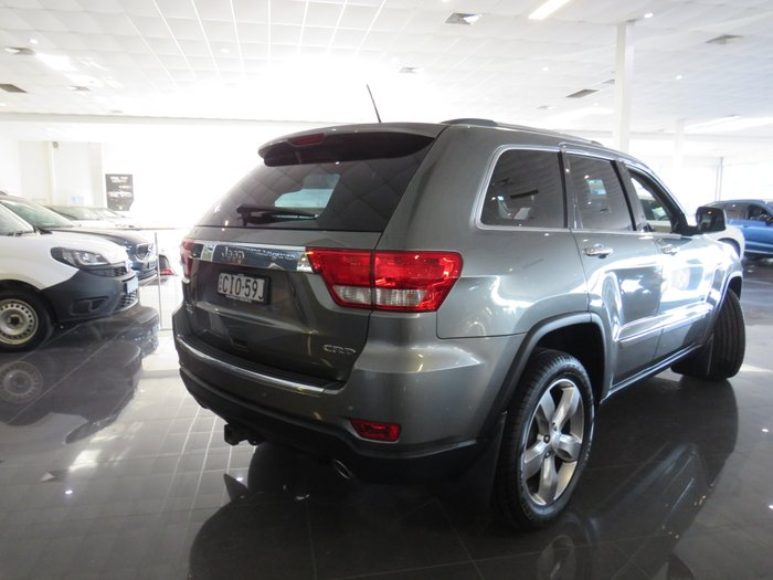 2012 Jeep Grand Cherokee Limited WK MY12 4X4 Constant GRANITE CRYSTAL