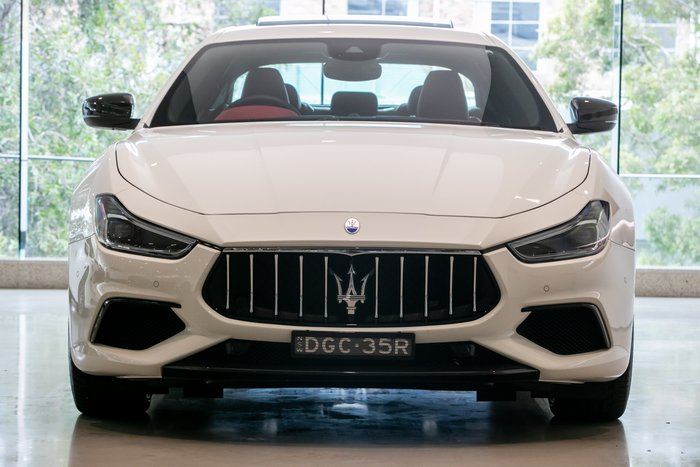 2019 Maserati Ghibli GranSport M157 MY19 Bianco (Solid)