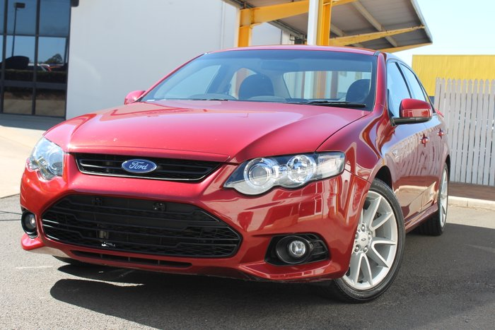 2013 Ford Falcon XR6 FG MkII red