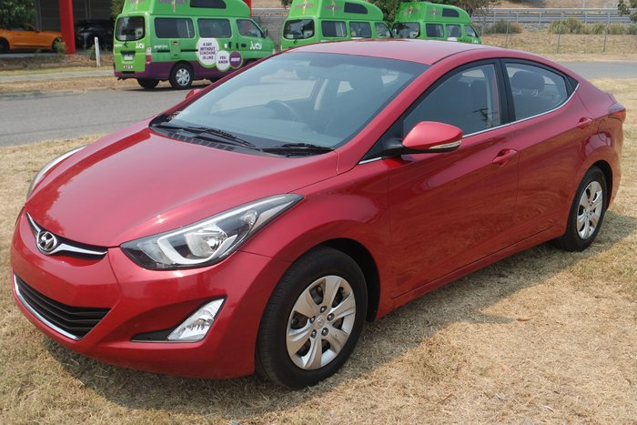 2013 Hyundai Elantra Active MD3 RED