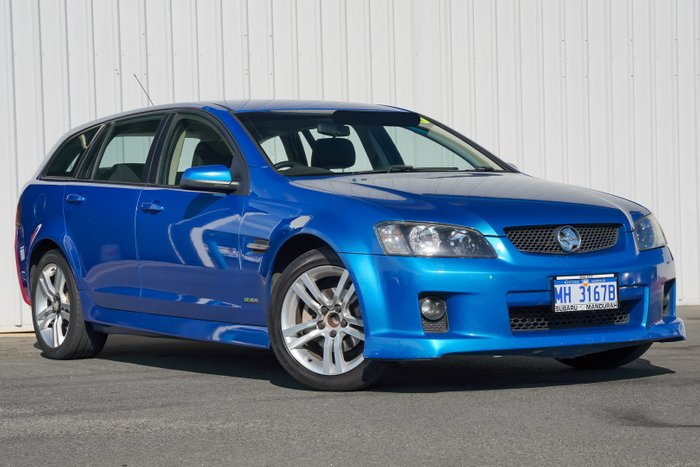 2010 Holden Commodore SV6 VE MY10 BLUE