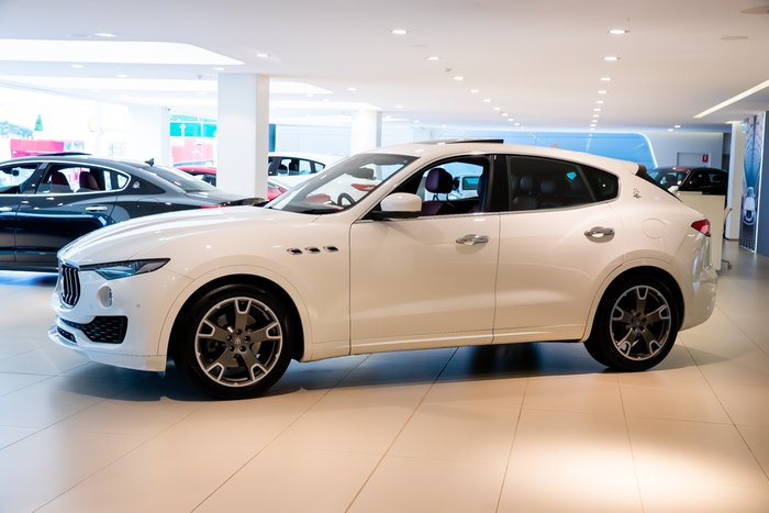 2016 Maserati Levante Luxury M161 MY17 4X4 On Demand White