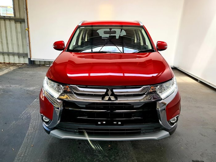 2016 Mitsubishi Outlander LS ZK MY16 RED