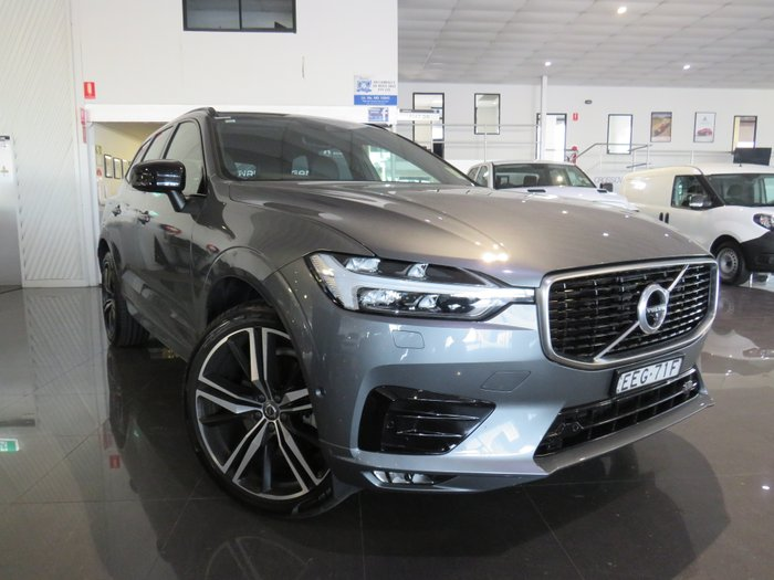 2019 Volvo XC60 D5 R-Design MY20 Four Wheel Drive GREY