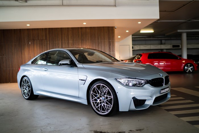 2016 BMW M4 Competition F82 Silver